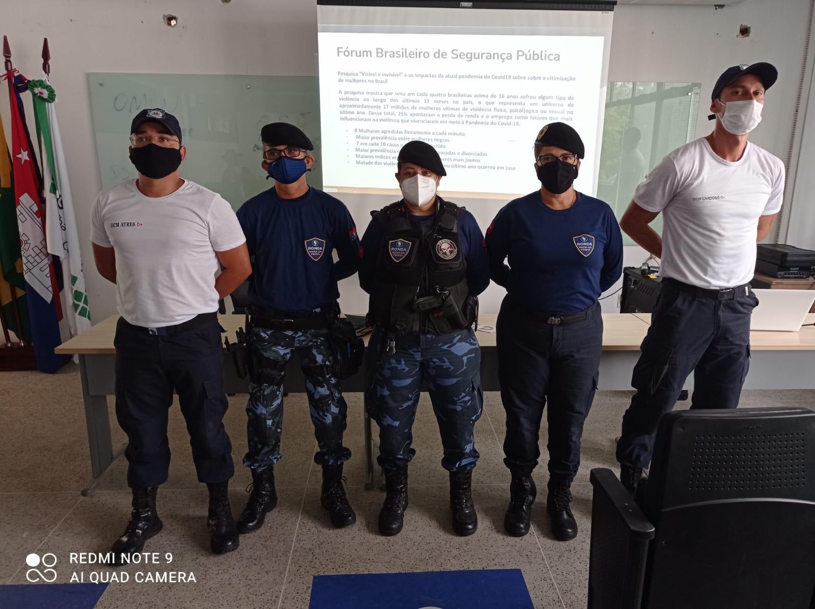 Guarda Metropolitana de Cabedelo promove capacitação sobre combate à violência contra a mulher