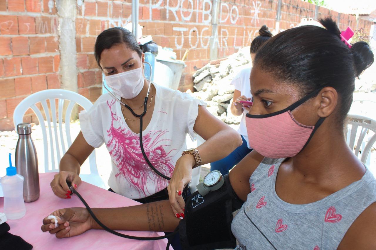 Secretaria de Saúde leva serviços e ações à comunidade de Oceania
