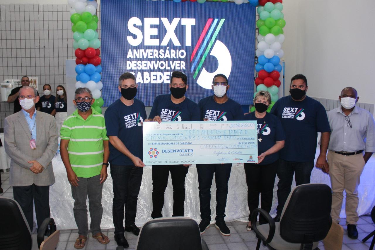 Programa Desenvolver Cabedelo comemora seis anos de criação investindo mais de R$ 3 milhões na economia local